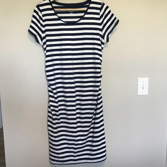 9581466dc5ba1 Liz Lange for Target Dresses | Striped Maternity Tshirt Dress | Poshmark